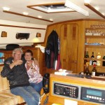 Ons eerste bezoek aan boord: Ingrid!