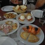 Gibraltar - Sevilla: Tapas eten in La Linea