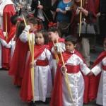 Semana Santa onschuldige kinderen