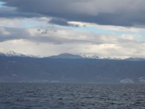 Sneeuw in de Sierra Nevada