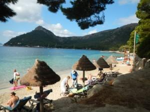 Langs de oostkant van Mallorca, Strand Formentor