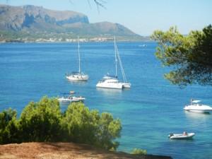 Langs de oostkant van Mallorca, cala es Calo