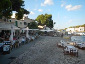 Porto Petro diner, oostkant Mallorca