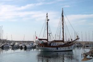 PaxNostrum-vertrekt-uit-haven-Almerimar