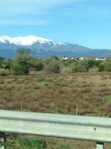 Pyreneeën in zicht