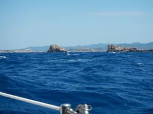 Ibiza in zicht