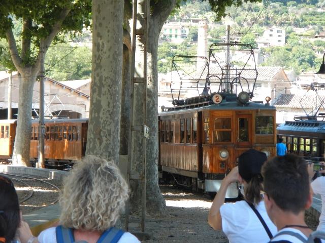 Historische trein naar Palma