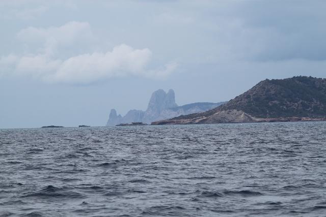 Isla Vedra vanaf Espalmador