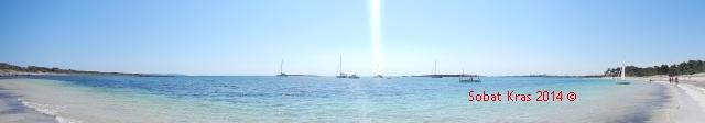 Mooi onbedorven strand
