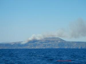 Bosbrand Moraira Spaanse Oostkust