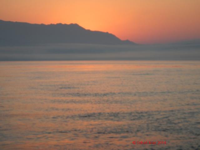 Caleta de Velez zonsopkomst