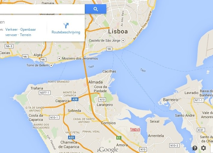 Tagus-location