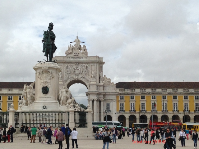 Lissabon plein aan de Taag