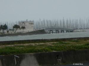 La Rochelle zicht op nieuwe havendeel Minimes