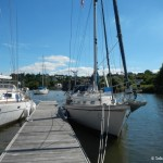 ponton offshore La Roche Bernard