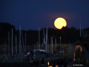 Camaret volle maan
