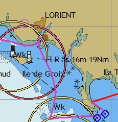 Zuidkust Bretagne zeilen