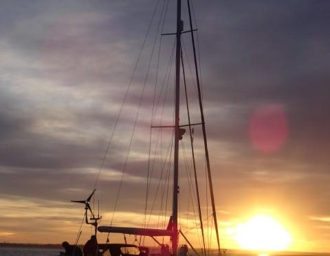 Zuidkust Bretagne zeilen is ook vroeg op