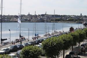 St Malo Port Vauban aan de kade