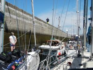 St Malo sluis naar Port Vauban